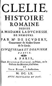 Clélie: histoire romaine, Volume9