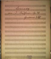Serenade für Guitarre, Violine und Altviole: 36tes Werk