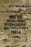 Stp 31 18d34 Sm Tg A Mos 18d Special Forces Medical Sergeant PDF