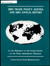 Trade Policy Agenda and     Annual Report of the President of the United States on the Trade Agreements Program PDF