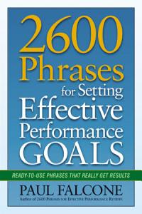 2600 Phrases for Setting Effective Performance Goals PDF