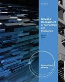 Strategic Management of Technology and Innovation PDF