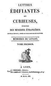 Mémoires du Levant