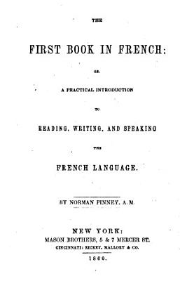 First Book in French ...