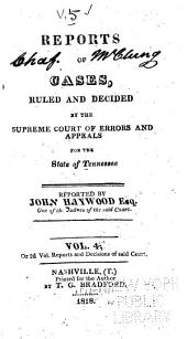 Reports of Cases Argued and Determined in the Supreme Court of Tennessee: Volume 5