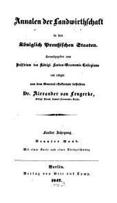 Annalen der Landwirthschaft in den Königlich Preußischen Staaten: Band 9