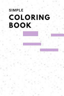 Simple Coloring Book