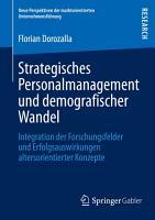 Strategisches Personalmanagement und demografischer Wandel PDF