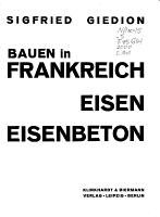 Bauen in Frankreich  Bauen in Eisen  Bauen in Eisenbeton PDF