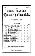 Chess Player's Chronicle
