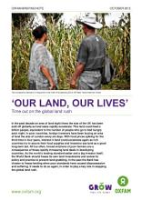 Our Land  Our Lives   Time out in the global land rush PDF