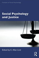Social Psychology and Justice PDF