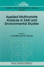 Applied Multivariate Analysis in SAR and Environmental Studies