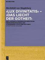 Lux divinitatis           Das liecht der gotheit    PDF