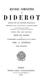 Œuvres complètes de Diderot: Encyclopédie, F-Logique