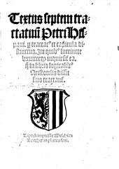 Textus septem Tractatuum per capitula distinct