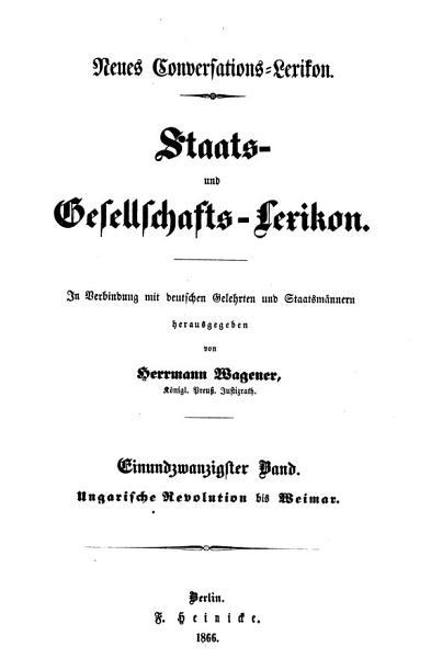 Staats  und Gesellschafts Lexikon PDF