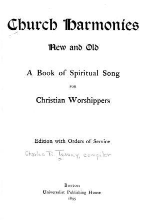 Church Harmonies  New and Old PDF