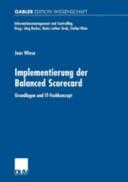Implementierung der Balanced Scorecard PDF