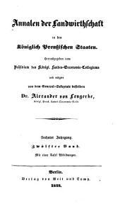Annalen der Landwirthschaft in den Königlich Preußischen Staaten: Band 12