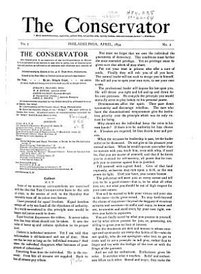 The Conservator PDF