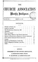 The Church association monthly intelligencer PDF