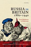 Russia in Britain  1880 1940 PDF