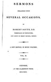 Sermons Preached Upon Several Occasions: Volume 2
