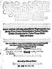 Teutscher Nation Herligkeit: Ein außführliche beschreibung des gegenwärtigen Standts Germaniae