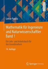 Mathematik für Ingenieure und Naturwissenschaftler Band 1: Ein Lehr- und Arbeitsbuch für das Grundstudium, Ausgabe 14