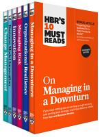 HBR s 10 Must Reads for the Recession Collection  6 Books  PDF