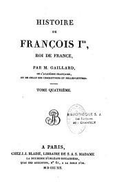 Histoire de François 1er, Roi de France