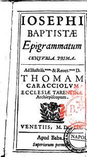 Epigrammatum centuria secunda