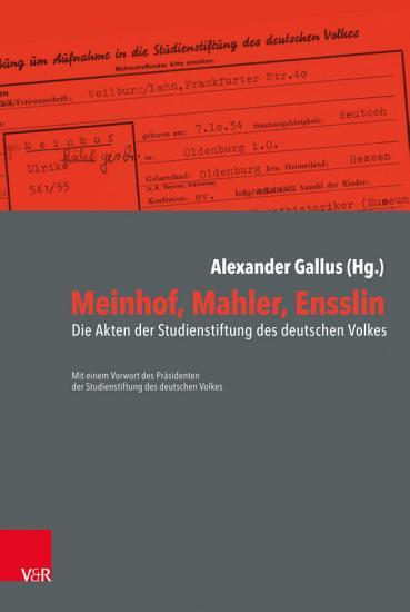 Meinhof  Mahler  Ensslin PDF