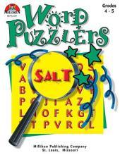 Word Puzzlers - Grades 4-5 (ENHANCED eBook)
