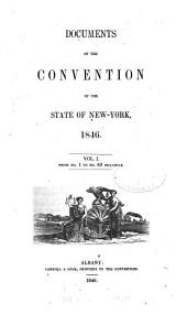 Documents of the Convention of the State of New York, 1846