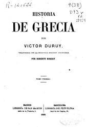Historia de Grecia: Volumen 1