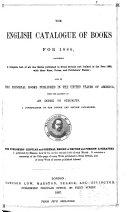 The English Catalogue of Books  annual  PDF