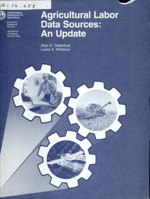 Agricultural Labor Data Sources PDF