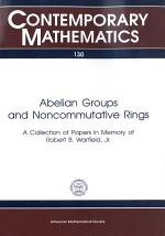 Abelian Groups and Noncommutative Rings
