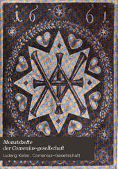 Monatshefte der Comenius-Gesellschaft: Bände 16-17