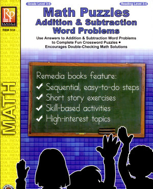Math Puzzles  Addition   Subtraction Word Problems PDF