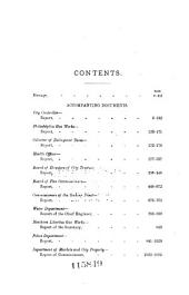 Annual Message of the Mayor of the City of Philadelphia with the Annual Reports of Directors of Departments