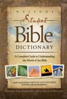 Nelson s Student Bible Dictionary PDF