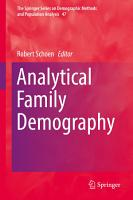 Analytical Family Demography PDF