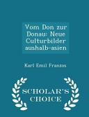 Vom Don Zur Donau PDF
