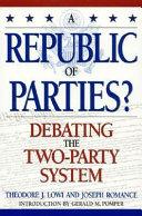 Download A Republic of Parties  Book