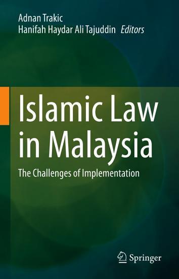 Islamic Law in Malaysia PDF