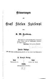 Erinnerungen an Graf Stefan Szécsenyi