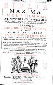Biblia maxima versionum, cum commentariis, Nic. de Lyra et aliorum, studio et opera J. de La Haye